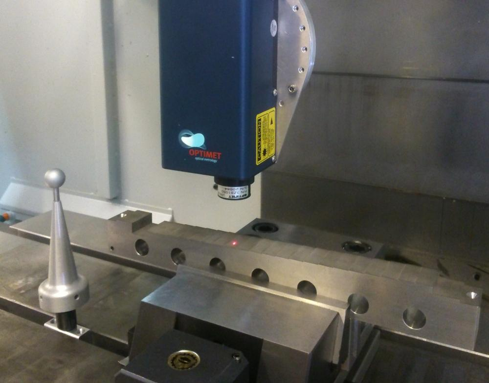 Depth of field influence on digitiging in a Machining Centre
